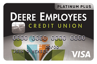 DECU platinum plus visa credit card