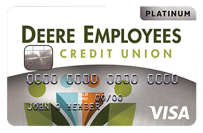 decu platinum visa credit card
