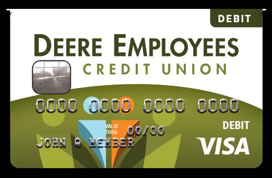 DECU debit card