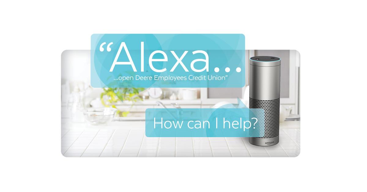 speaking with alexa